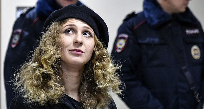 Мария Алехина от скандалната група Pussy Riot ще обжалва присъдата,