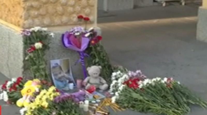 Снимка: Бдение в памет на убитата 7-годишна Кристин в Сливен
