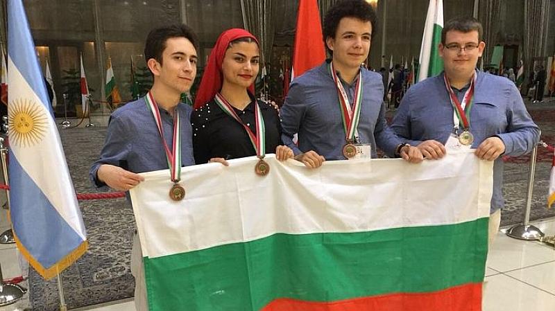Младите ни биолози спечелиха четири медала от Международна олимпиада по