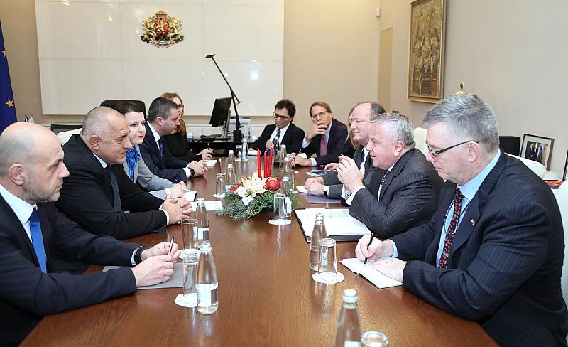 Премиерът Бойко Борисов се срещна със заместник-държавния секретар на САЩ