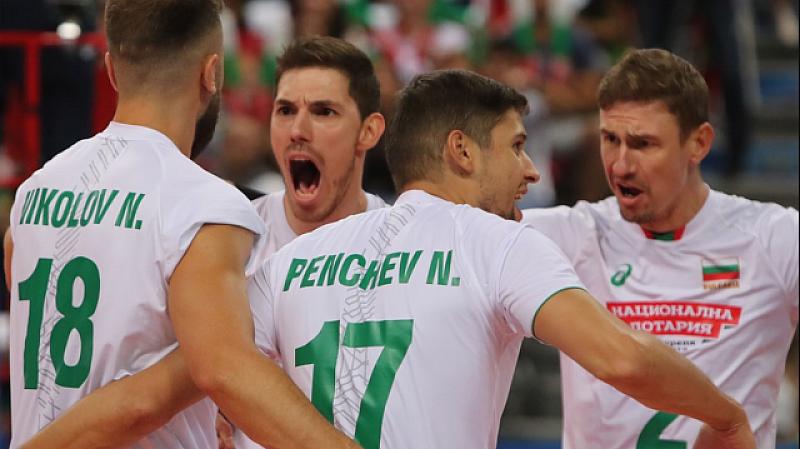 Националният отбор на България по волейбол победи Иран с 3:0