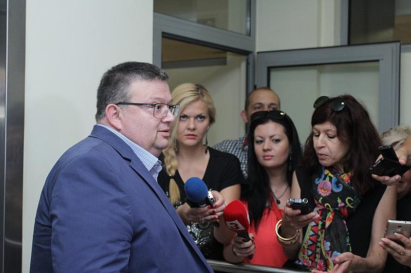 Снимка: ГЕРБ номинира Цацаров за шеф на КПКОНПИ