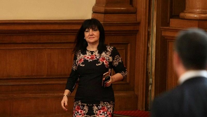 Председателят на Народното събрание Цвета Караянчева е начело на парламентарна