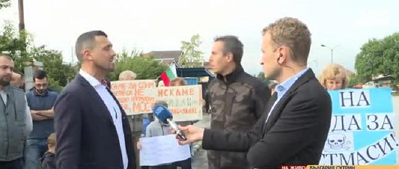 Жители на Елин Пелин отново затварят една от най-използваните улици
