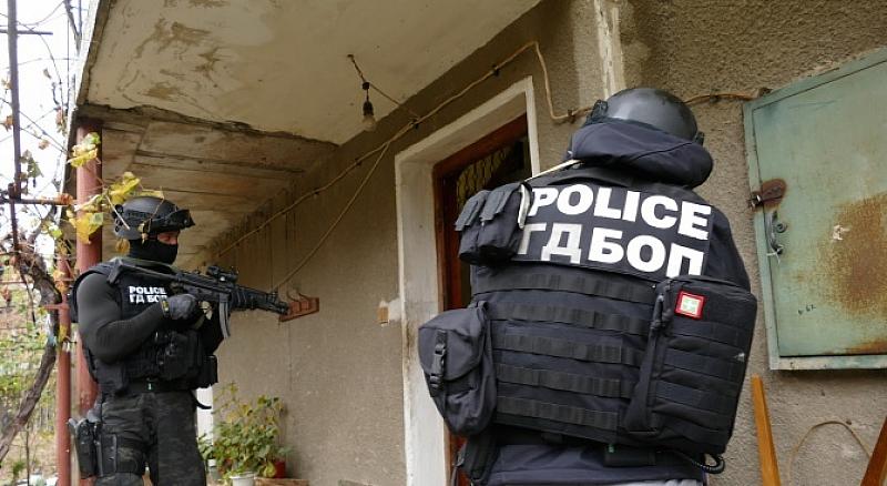 В момента тече мащабна акция на прокуратурата и полицията на