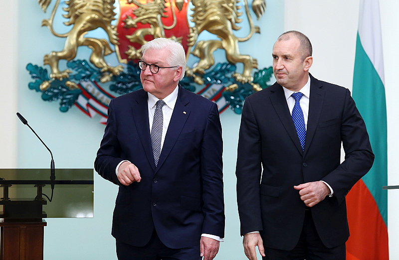Германският президент Франк-Валтер Щайнмайер изрази подкрепа на съвместна среща с