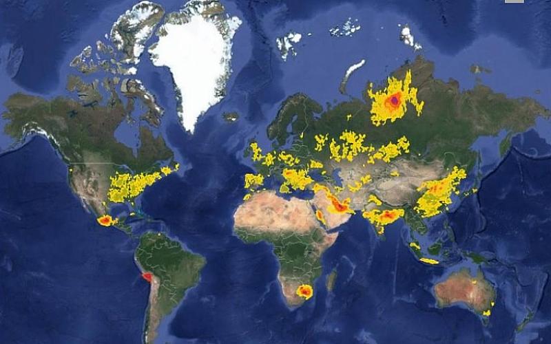 Снимка: Влязохме в топ 20 на световните замърсители със серен диоксид