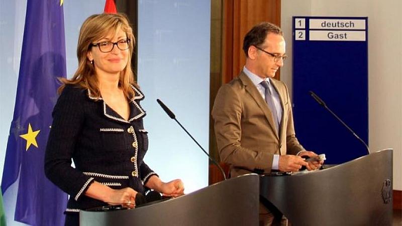 По покана на вицепремиера и министър на външните работи Екатерина