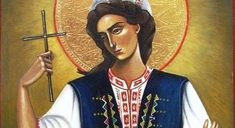 На 24 юли Православната църква почита паметта на Света Великомъченица