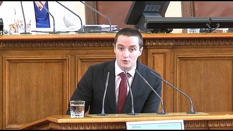 Депутатът от БСП Явор Божанков е бил заплашен с пистолет