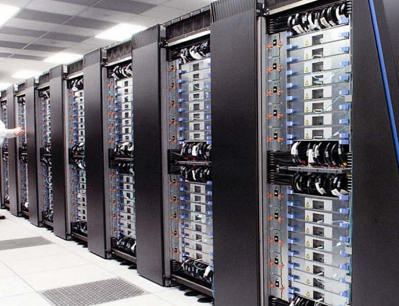 Суперкомпютър се използва за изследване, за иновации, които изискват много