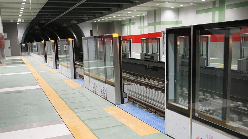 Пет километра от третата линия на метрото са готови. Това