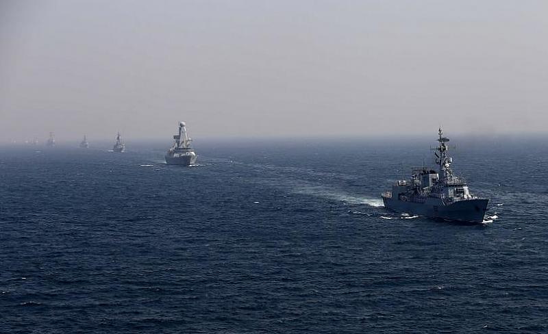 Снимка: Втора противоминна група кораби на НАТО пристигат във Варна