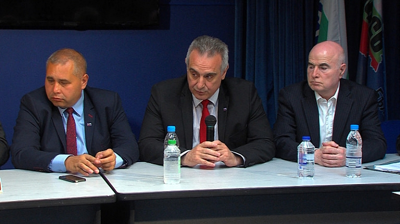 От партия Национален фронт за спасение на България призоваха Светия