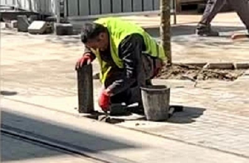 """Прословутите перки на столичната улица """"Граф Игнатиев"""" бяха отстранени физически."""