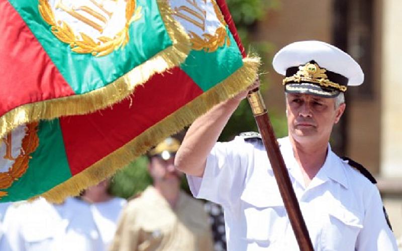 Командирът на Военноморските сили контраадмирал Митко Петев за четвърти път