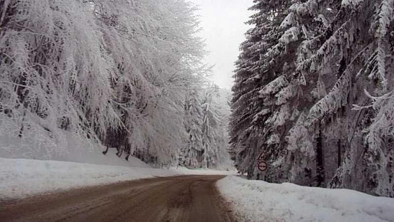 Жълт код за дъжд и сняг в почти цяла България