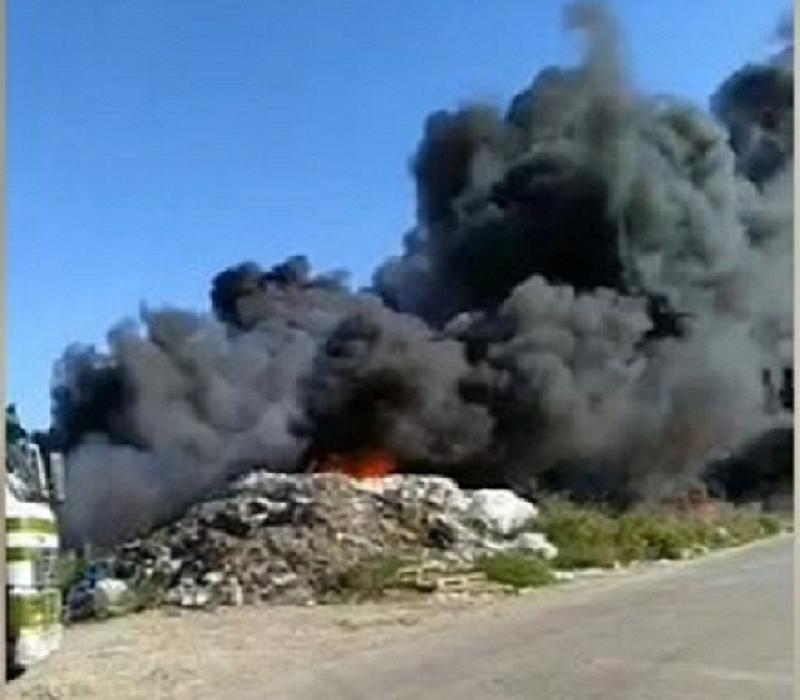 Втори огромен пожар гори край Дупница. Този път под автомагистрала