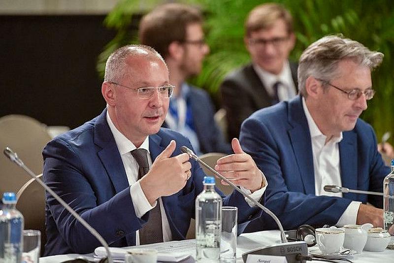 Президентът на ПЕС Сергей Станишев беше домакин на координационна среща
