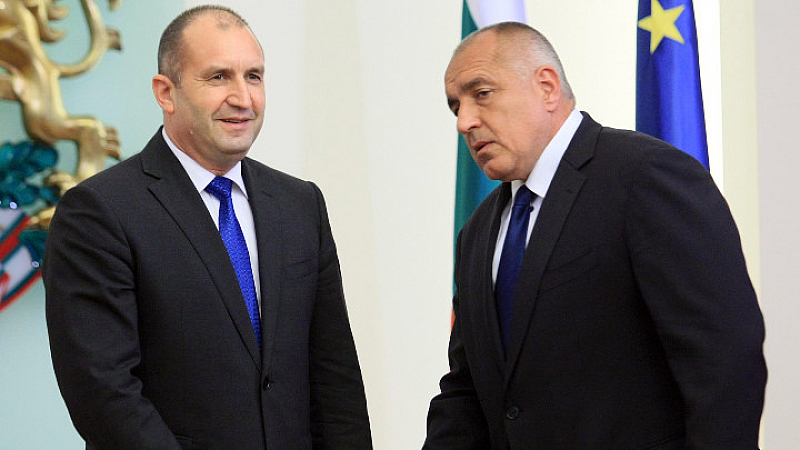 Премиерът Бойко Борисов и президентът Румен Радев отправиха своите поздравления
