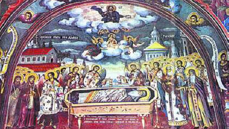 На 18 август Българската православна църква отбелязва смъртта (успението) на