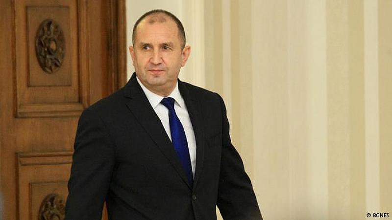 От 25 до 27 март президентът Румен Радев ще бъде