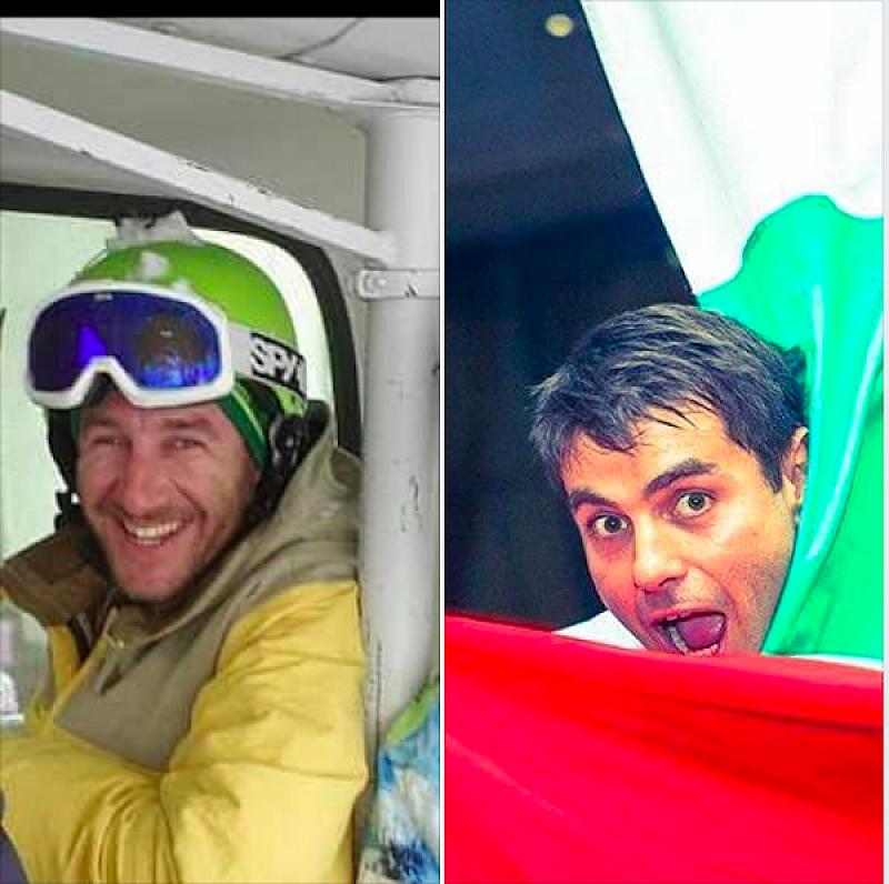 Снимка: Приятелите на загиналите сноубордисти събират средства за техните деца