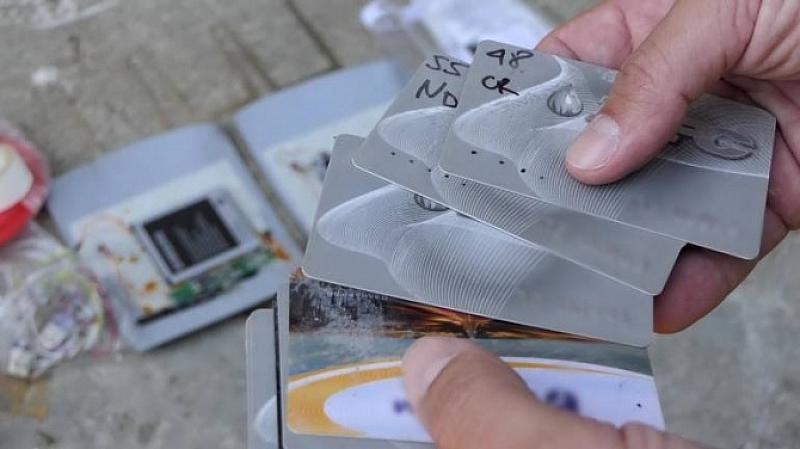 Снимка: Разбиха работилница за скимиращи устройства