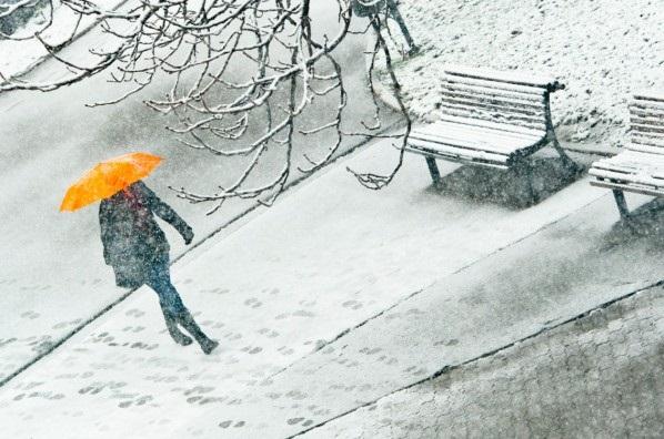 Жълт код за сняг и дъжд са обявени в 20