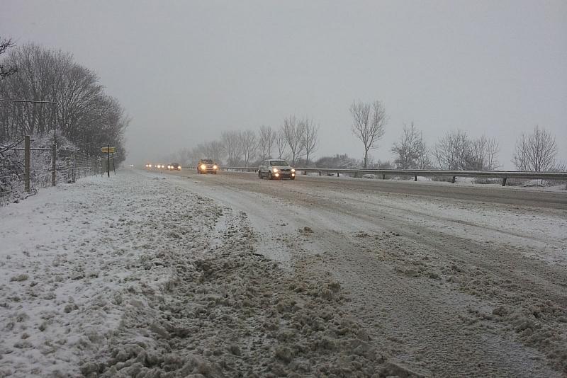 Зимата дойде в много части на страната.Най-много сняг е паднал