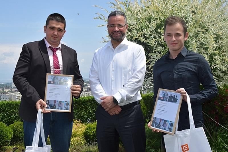 Двама студенти на Техническия университет в град София са първите