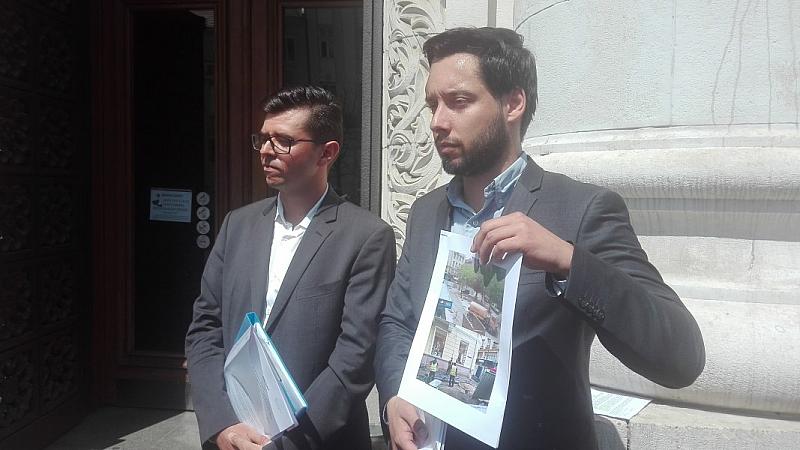 Активистите от Спаси София питат кмета на София, Йорданка Фандъкова,