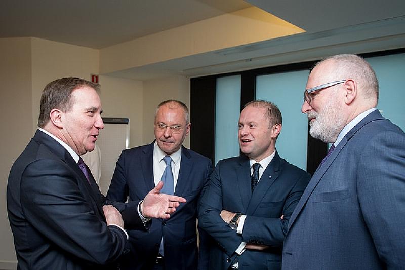 Премиери и eвропейски комисари от ПEС потвърдиха решимостта си за