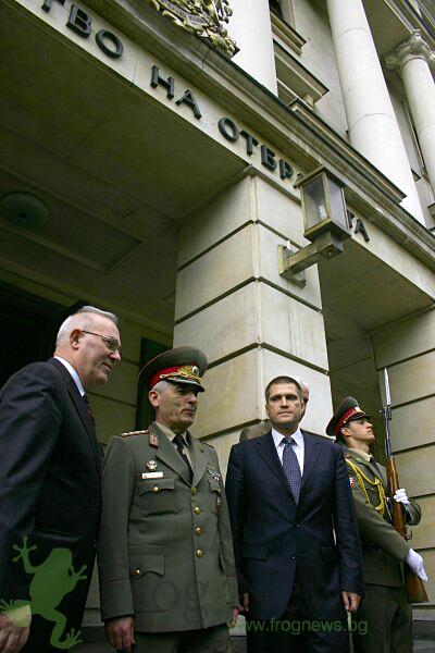 военен министър