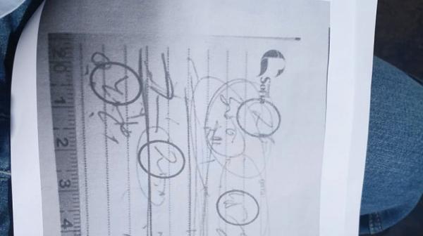Първо във Фрог: Ето я мистериозната страница от тефтерчето на Иванчева, но  с чужд почерк