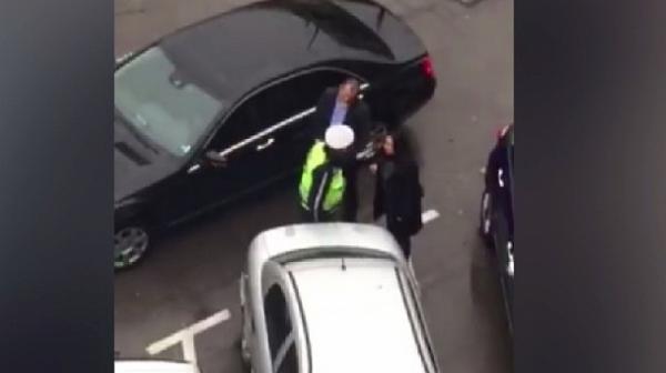 КАТ спря кола на НСО заради каране в насрещното?