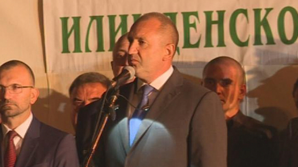 Президентът Радев: Не търсим отмъщение, но няма да забравим и пепелищата