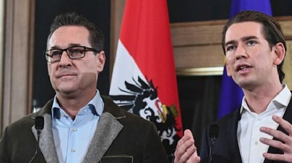 Австрия се тресе, вицеканцлерът подаде оставка за корупция