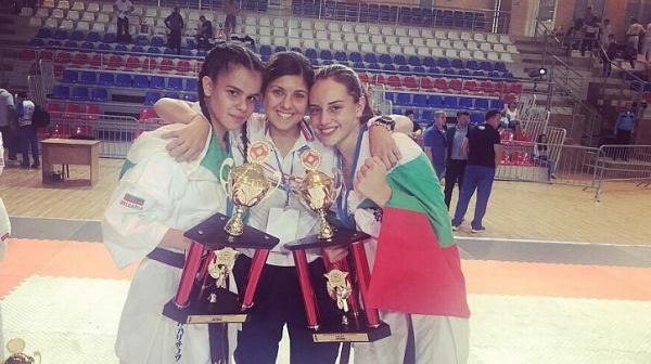Шампионска титла и 11 медала от Европейското по киокушин
