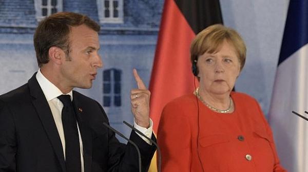 Макрон ще подкрепи Меркел за наследник на Юнкер