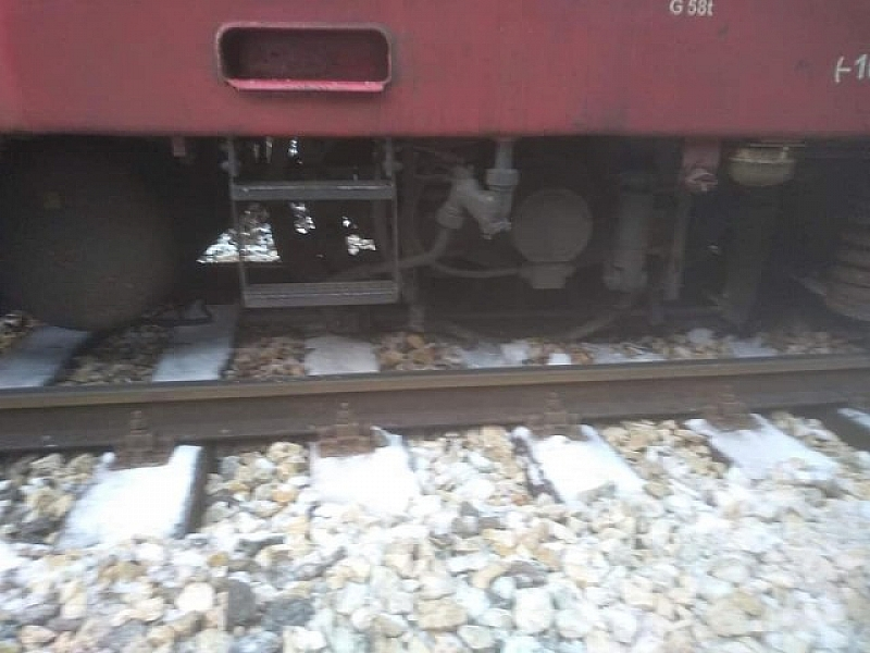 Бързият влак № 2601 от София за Варна е излязъл
