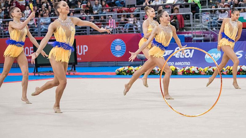 Ансамбълът ни по художествена гимнастика спечели бронзов медал в многобоя
