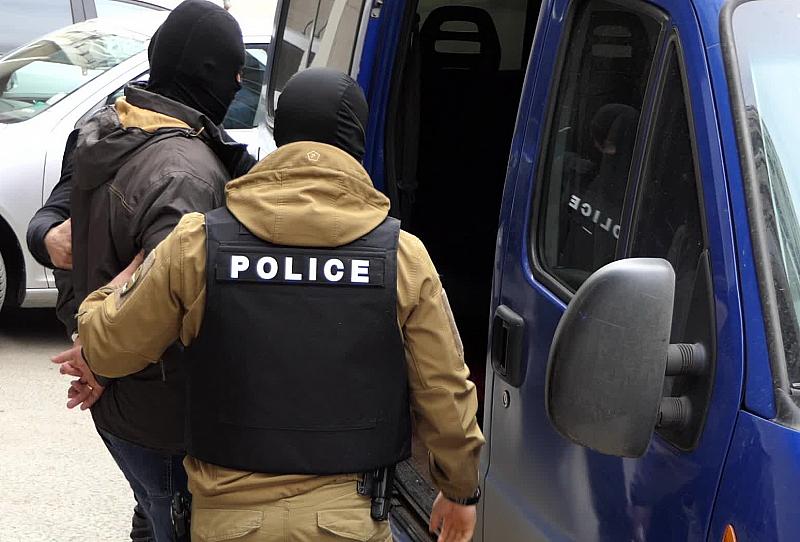 Полицейската акция в София е заради убийството на Станка Марангозова.