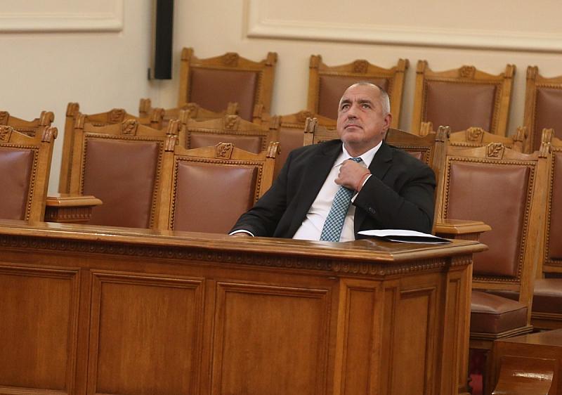Дългото управление на Борисов е пиеса в няколко действия. В