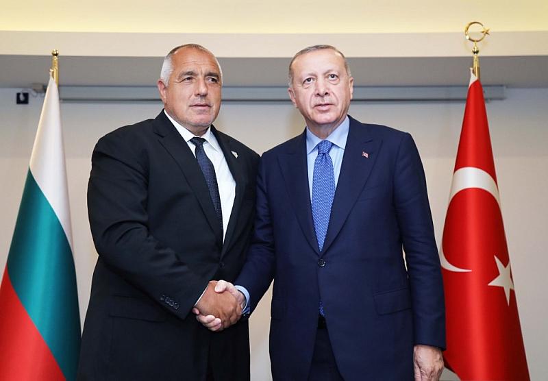 Министър-председателят Бойко Борисов проведе телефонен разговор с президента на Турция