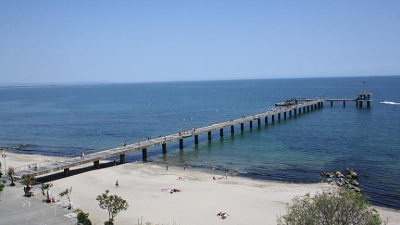 Тяло на мъж е открито в морето край Моста в