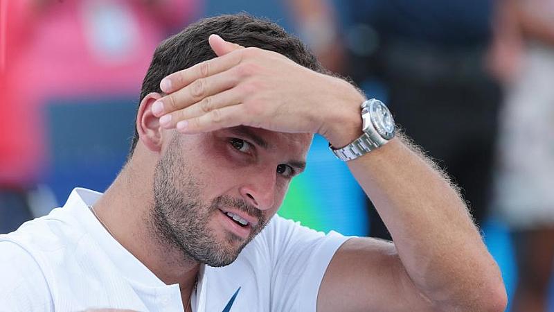 Най-добрият български тенесист Григор Димитров влезе в сериозно прегрешение с