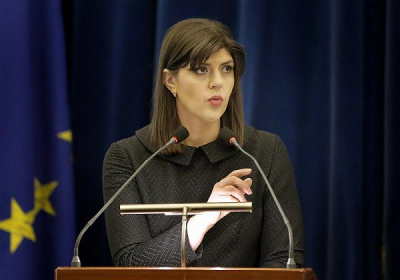Първата европейска главна прокурорка Лаура Кьовеши се оплака днес пред