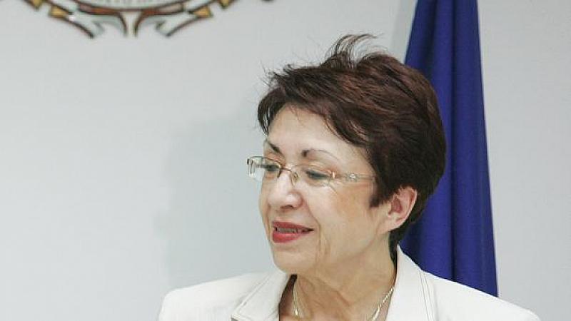 Бившият министър на околната среда Евдокия Манева, чийто заместник в