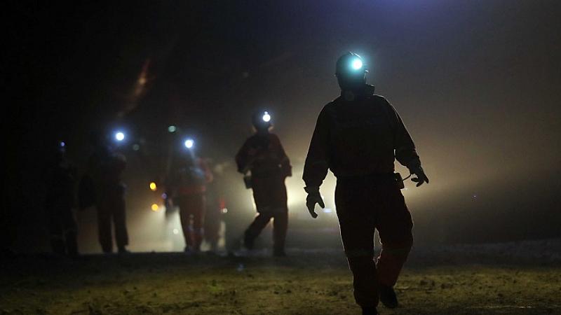 36-годишен миньор е със средна телесна повреда при злополука в